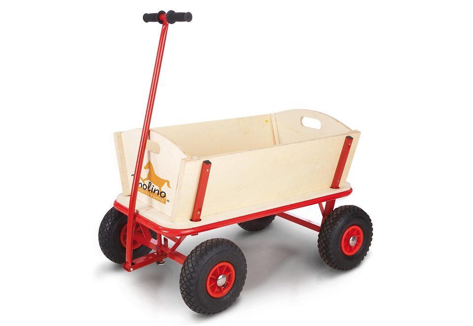 Pinolino Bollerwagen aus Holz mit Profilreifen »Maxi«