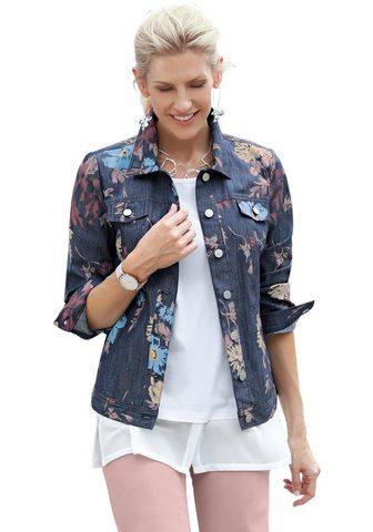 Куртка джинсовая в lässiger имита...