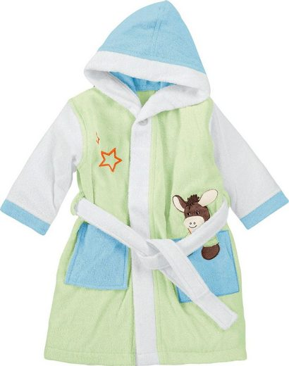 Babybademantel »Esel Emmi«, Sterntaler®
