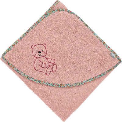 Sterntaler® Badetuch »Baylee« (1-St), mit niedlichem Teddybär