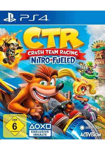 ACTIVISION CTR Crash Team гонки Nitro Fueled Play...