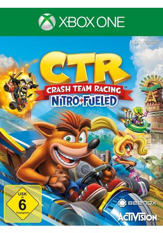 CTR Crash Team гонки Nitro Fueled Xbox...