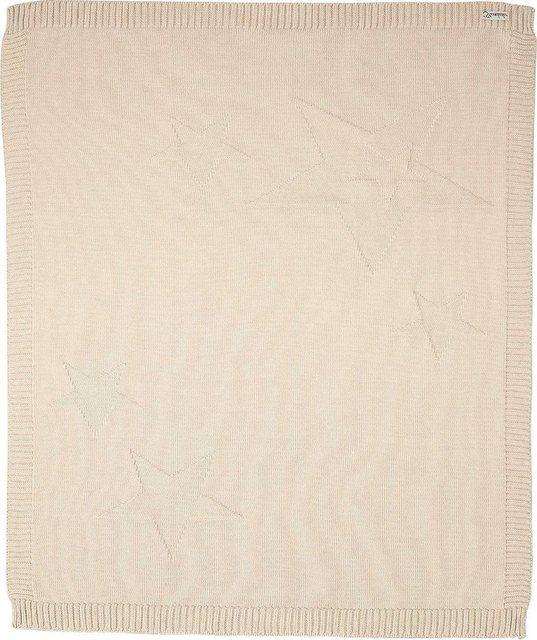 Kinderdecke »Baylee«, Sterntaler®, mit eingestrickten Sternen | Kinderzimmer > Textilien für Kinder > Kinderbettwäsche | Baumwolle | Sterntaler®