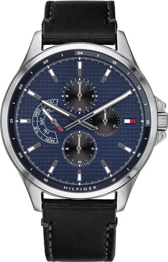 TOMMY HILFIGER Multifunktionsuhr »CASUAL, 1791616«