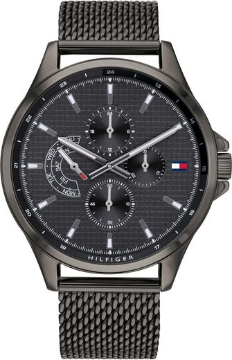 TOMMY HILFIGER Multifunktionsuhr »CASUAL, 1791613«