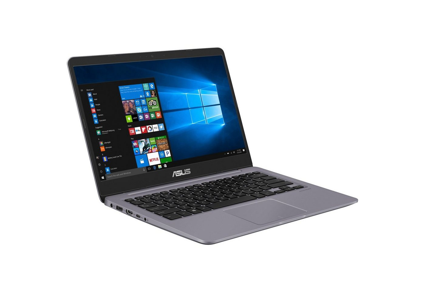 ASUS Notebook »VivoBook 14 X411UF-EB250T, Windows 10 Home 64-Bit«