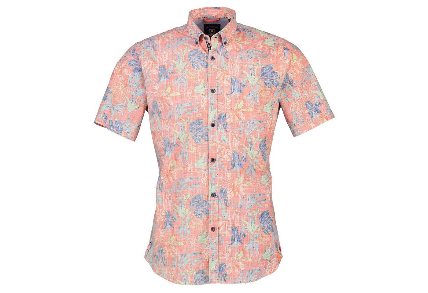 LERROS Hawaiihemd | Bekleidung > Hemden > Hawaiihemden | Orange | LERROS