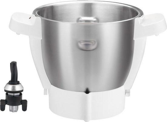 Krups Küchenmaschinenschüssel »XF553D Prep&Cook: nur passend für Küchenmaschine HP5031 ab Baujahr 1.1.2018)«, Edelstahl