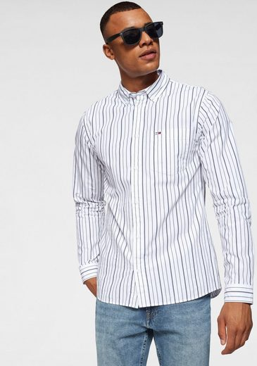 TOMMY JEANS Рубашка »TJM CLASSICS POPLIN STRIPE SHIRT«