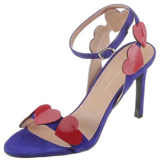 GUIDO MARIA KRETSCHMER Sandalette mit hübscher Herzchenapplikation