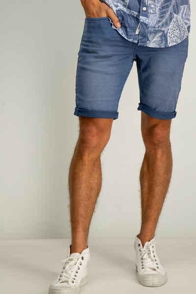 Garcia Shorts mit lässigen Destroyeffekten