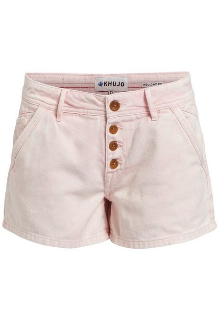 khujo Hotpants »BARBY« im Regular Fit mit Mid Waist   Bekleidung > Hosen > Hotpants   khujo