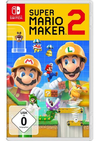 NINTENDO SWITCH Super Mario Maker 2 Nintendo Šakotuvas...
