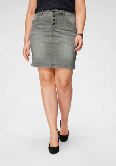 59e2e840c2be Jeansröcke in großen Größen » Jeansrock für Mollige kaufen | OTTO
