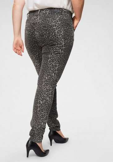 Love to be by LTB Skinny-fit-Jeans »ARLY« Plus Size High Waisted mit angesagtem Leo-Print