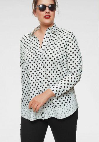 FRAPP Блузка с набивным рисунком