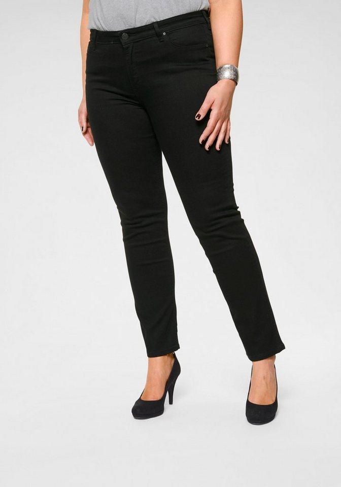 lee plus straight jeans marion mid waist kaufen otto. Black Bedroom Furniture Sets. Home Design Ideas