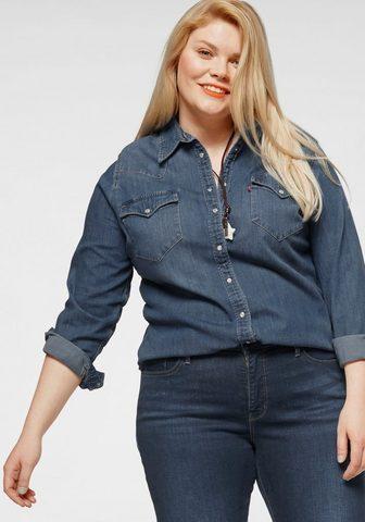 LEVI'S PLUS Levi's® Plus джинсовая блузка &raq...