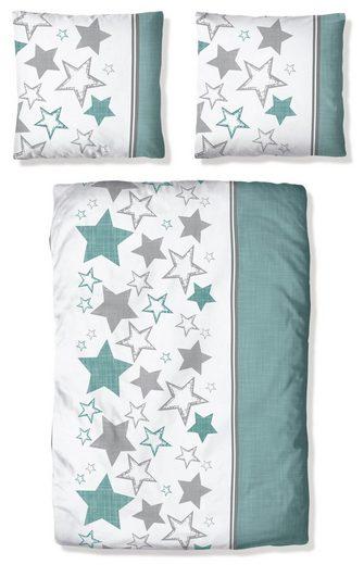 Bettwäsche »Gladio«, my home, mit modernen Sternen