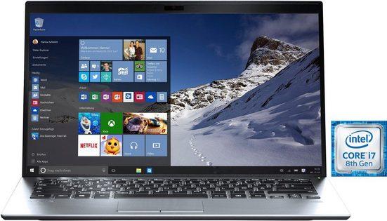 VAIO Vaio SX14 Notebook (35,56 cm/14 Zoll, Intel Core i7, 512 GB HDD, 512 GB SSD, Windows 10 Professional, Anti-Glare Full HD IPS Display, Carbon Chassis, TPM 2.0, Fingerprintreader)