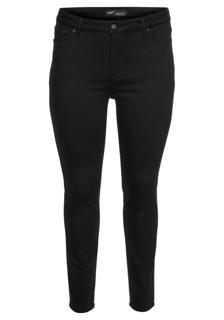 Hosen - Arizona Slim fit Jeans »black stays black« High Waist ›  - Onlineshop OTTO