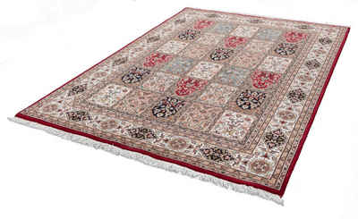 Orientteppich »Benares Bachtiari«, THEKO, rechteckig, Höhe 12 mm, reine Wolle, handgeknüpft, mit Fransen, Wohnzimmer