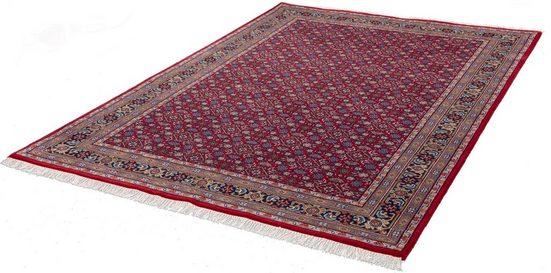 Orientteppich »Benares Herati«, THEKO, rechteckig, Höhe 12 mm, klassisches Design, Wollteppich, handgeknüpft