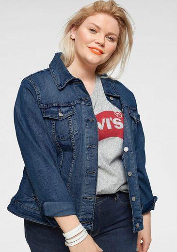 Levi's® Plus Jeansjacke »Boyfriend Trucker« in klassischer Form