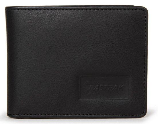 Eastpak Geldbörse »DREW RFID«, aus Leder mit RFID-Block für mehr Sicherheit