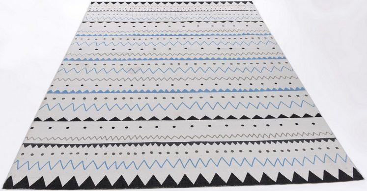Teppich »Tuxedo«, THEKO, rechteckig, Höhe 5 mm, auch passendes Sitzkissen erhältlich