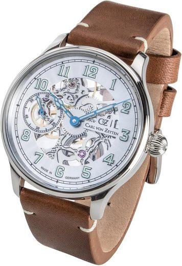 Carl von Zeyten Mechanische Uhr »Lahr, CVZ0021WH«