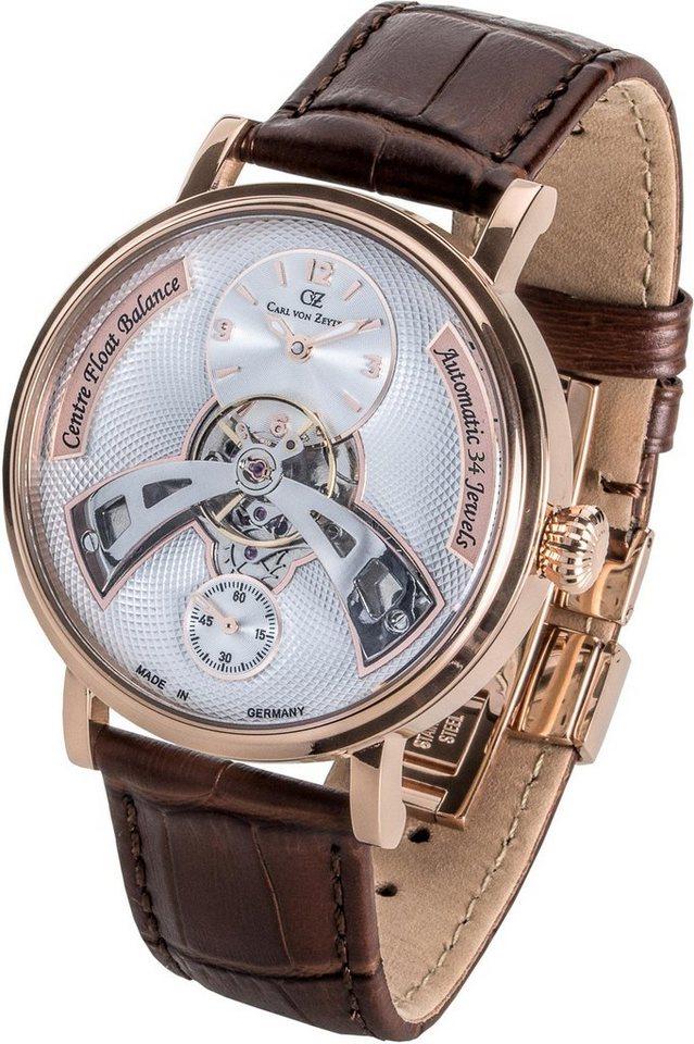 Carl von Zeyten Automatikuhr »Baden-Baden, CVZ0042RWH«   Uhren > Automatikuhren   Braun   Carl von Zeyten