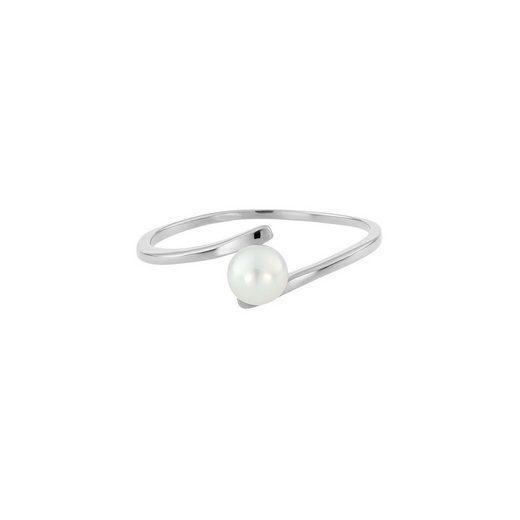 Heideman Perlenring »Ring 411 Poliert« Perlenring mit echter Süßwasserperle