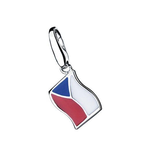 GIORGIO MARTELLO MILANO Charm-Einhänger »Flagge Tschechien«