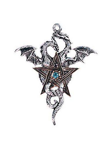 Adelia´s Amulett »Forbidden Talisman« Drachenstern Kreuz - Ausgeglichenheit und Stabilität