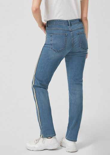 s.Oliver Smart Straight: Jeans mit Streifen