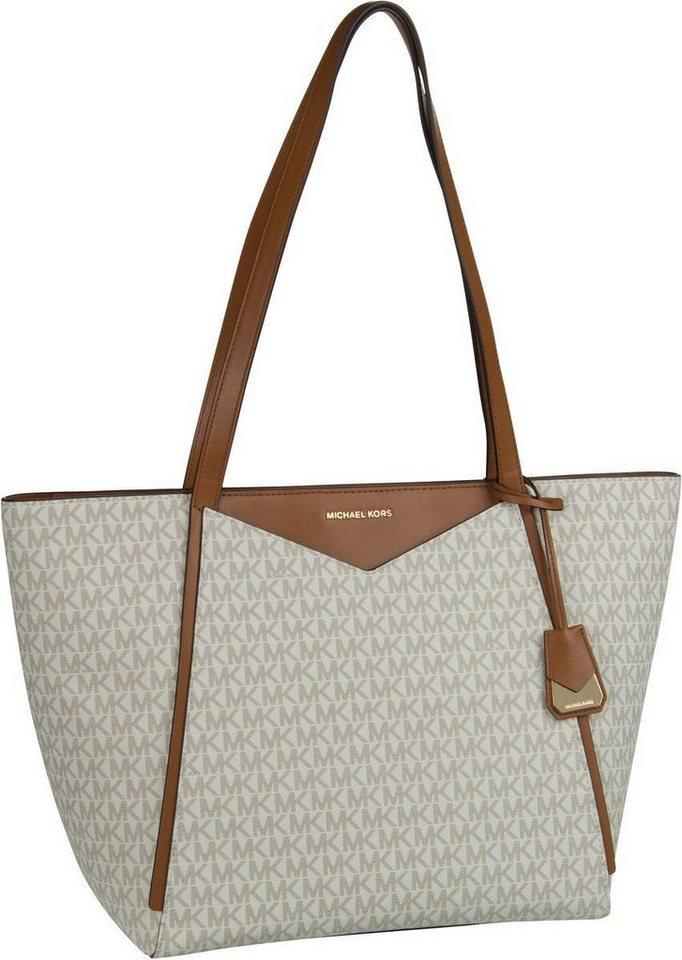 3dede62145dbd MICHAEL KORS Shopper »Whitney Large TZ Tote MK Signature« online ...
