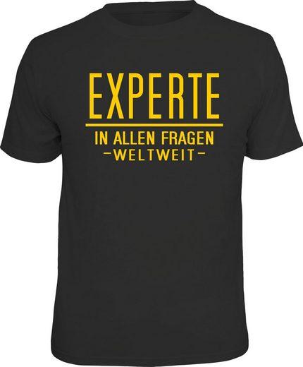 Rahmenlos T-Shirt für Besserwisser mit lustigem Print