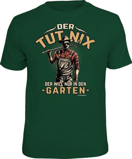 Rahmenlos T-Shirt für den aktiven Gärtner