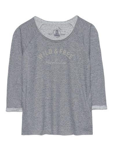 Herrlicher Sweatshirt im lässigen Look
