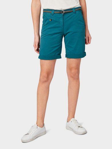 TOM TAILOR Bermudas »Chino Bermuda Shorts«