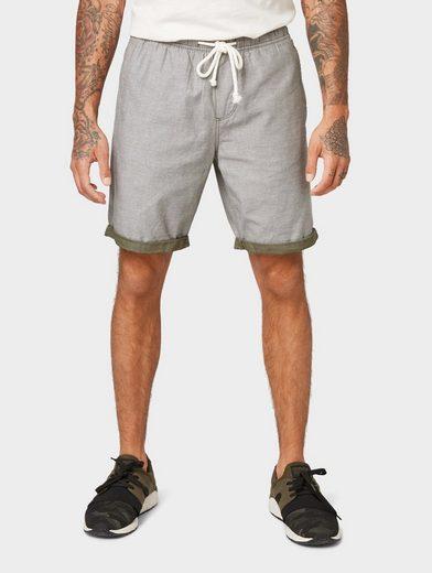TOM TAILOR Denim Shorts »Strukturierte Shorts«