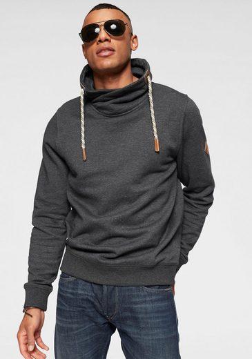Blend Sweatshirt mit Schlauchkragen