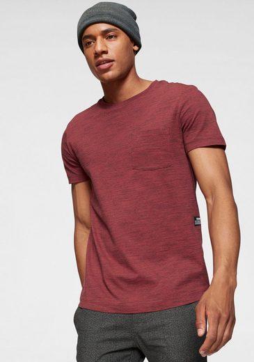 TOM TAILOR Denim T-Shirt mit Brusttasche
