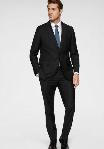Class International Anzug (2-tlg) in hochwertiger Wollmischung, sehr gute Passform durch Elasthan