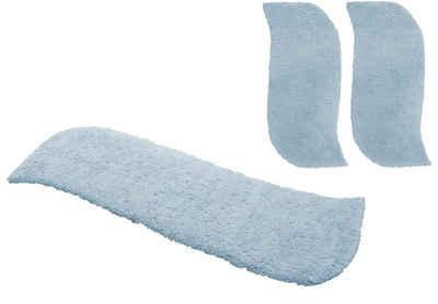 Hochflor-Bettumrandung »Desner« my home, Höhe 38 mm, (3-tlg), besonders weich durch Microfaser
