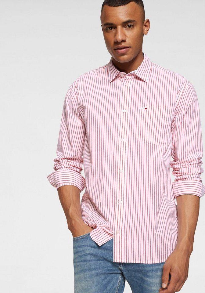 c382e04d38 Tommy Jeans Hemd »TJM DOBBY STRIPE SHIRT« kaufen | OTTO