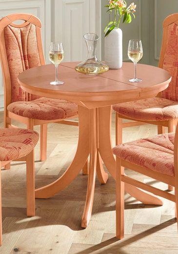DELAVITA Tisch »GERD 80«, Breite 80-110 cm