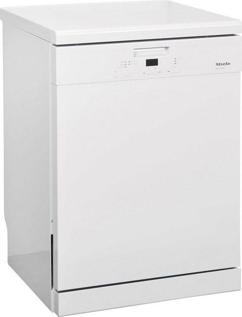 Küchengroßgeräte - Miele Standgeschirrspüler G 4310, G 4310 SC Active Eco, 12 l, 14 Maßgedecke  - Onlineshop OTTO