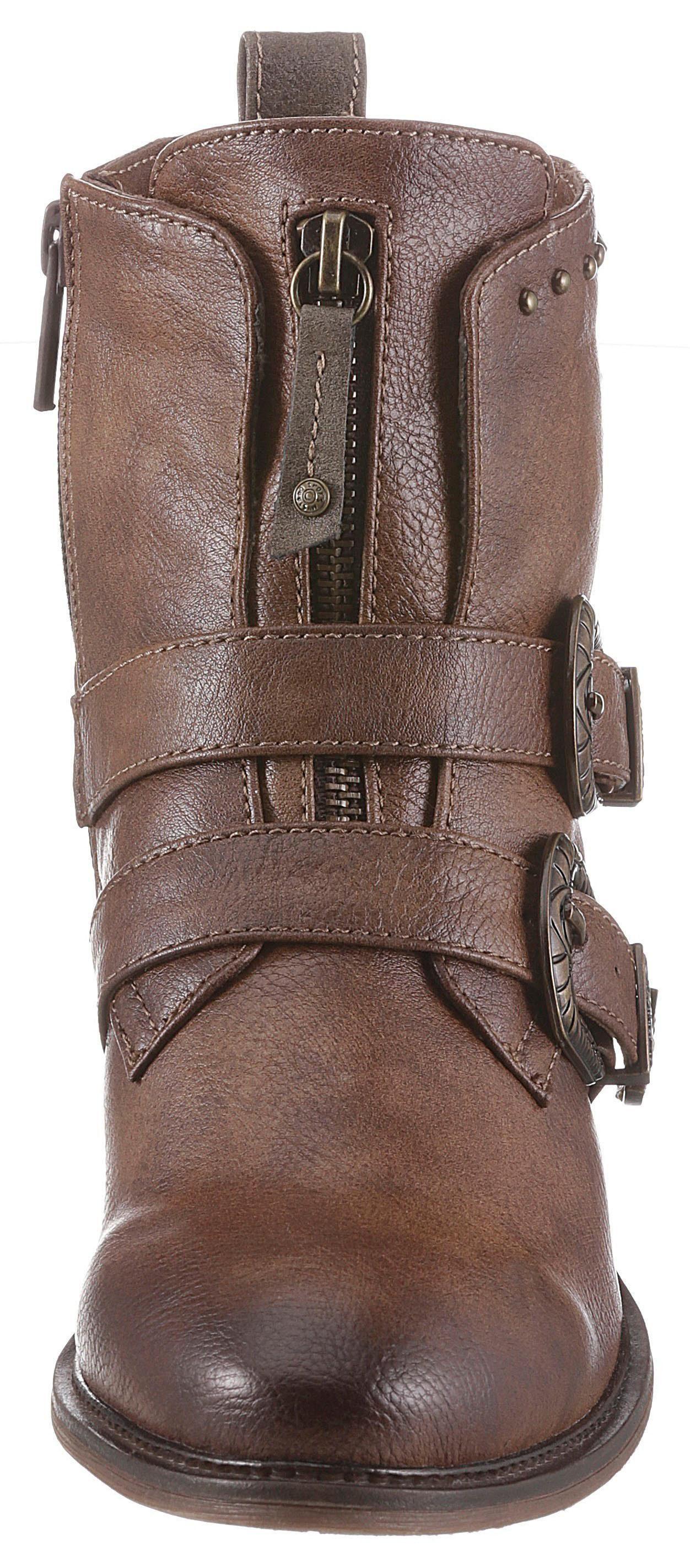 Zierschnallen Mustang Mit Shoes Online Kaufen Cowboy Stiefelette Aufwendigen odeWCxrB